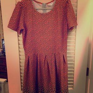 Lularoe Carly Dress 2XL